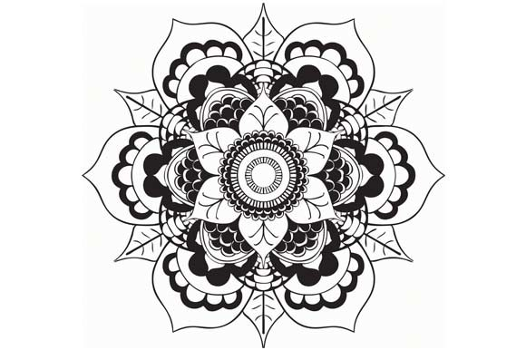 Download Free Mandala Pack Vector Art Rainbow Graphic By Redsugardesign for Cricut Explore, Silhouette and other cutting machines.