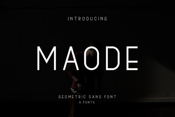 Print on Demand: Maode Family Sans Serif Font By alphArt