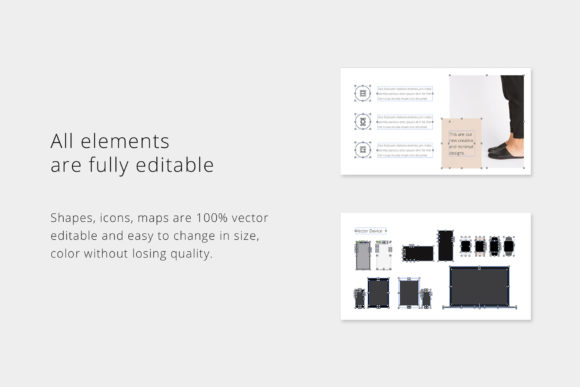 Print on Demand: Maon - Fashion Powerpoint Presentation Template Graphic Presentation Templates By pixasquare - Image 12