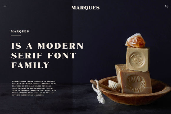 Print on Demand: Marques Family Serif Font By craftsupplyco - Image 2