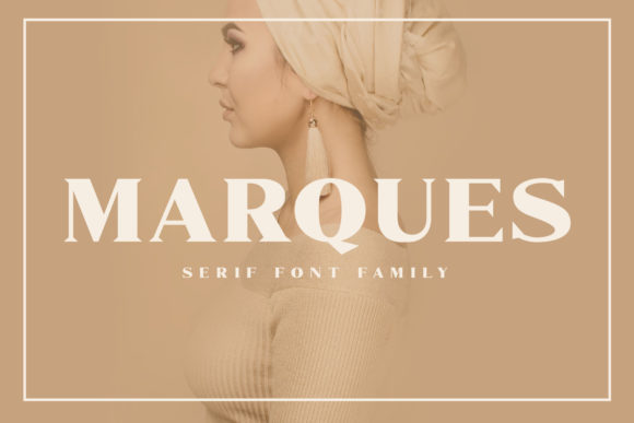 Marques Family Serif Font By craftsupplyco