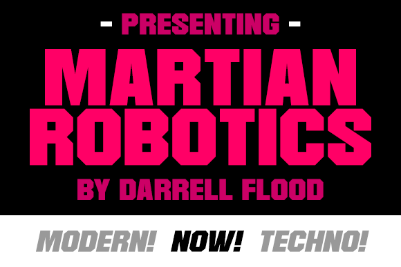 Print on Demand: Martian Robotics Display Font By Dadiomouse - Image 1