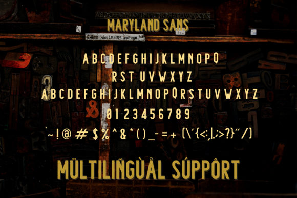 Maryland Family Font By Adriansyah Image 11