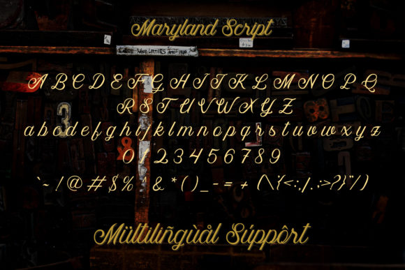 Maryland Family Font By Adriansyah Image 12