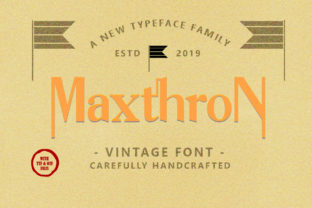 Maxthron Family Font By luckytype.font