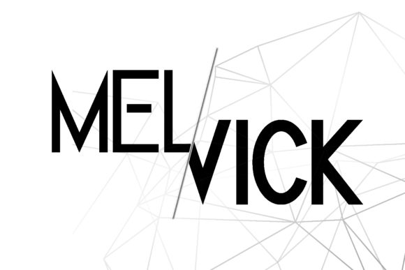 Print on Demand: Melvick Family Sans Serif Font By dmletter31