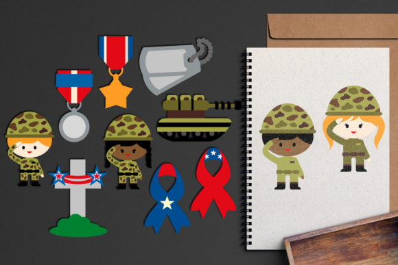 Print on Demand: Memorial Day Graphic Illustrations By Revidevi