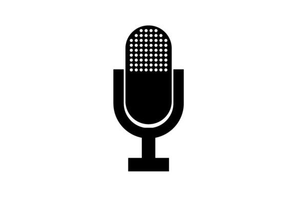 Microphone Icon Eps 10