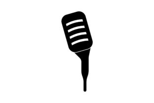 Download Free Microphone Icon Vector Graphic By Hoeda80 Creative Fabrica for Cricut Explore, Silhouette and other cutting machines.