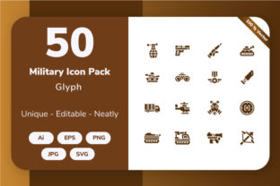Military - Glyph Graphic By Icon Stale