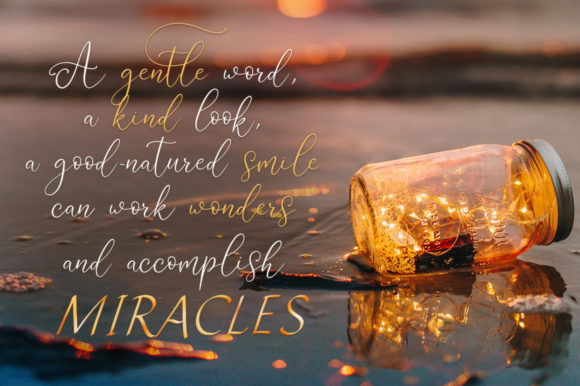 Miracles Duo Font By Red Ink Image 2