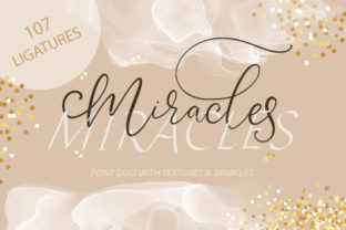 Print on Demand: Miracles Duo Script & Handwritten Font By Red Ink