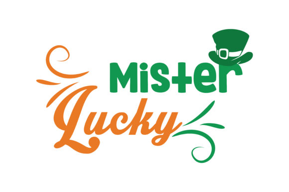 Download Free Mister Lucky Quote Svg Cut Grafico Por Thelucky Creative Fabrica for Cricut Explore, Silhouette and other cutting machines.