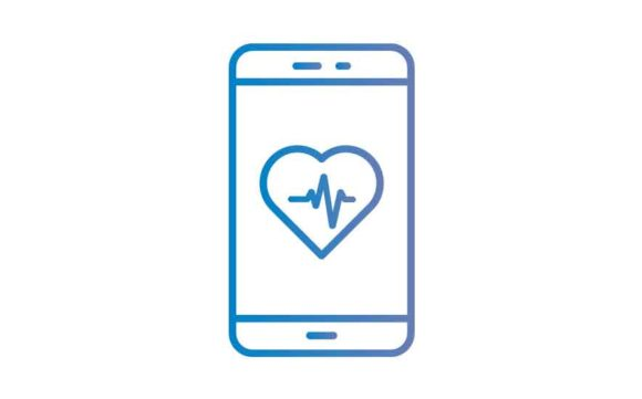 Download Free Mobile Medical Apps Graphic By Re Stock Creative Fabrica for Cricut Explore, Silhouette and other cutting machines.