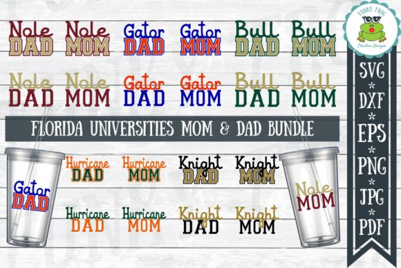 Mom And Dad Bundle Graphic By Funkyfrogcreativedesigns