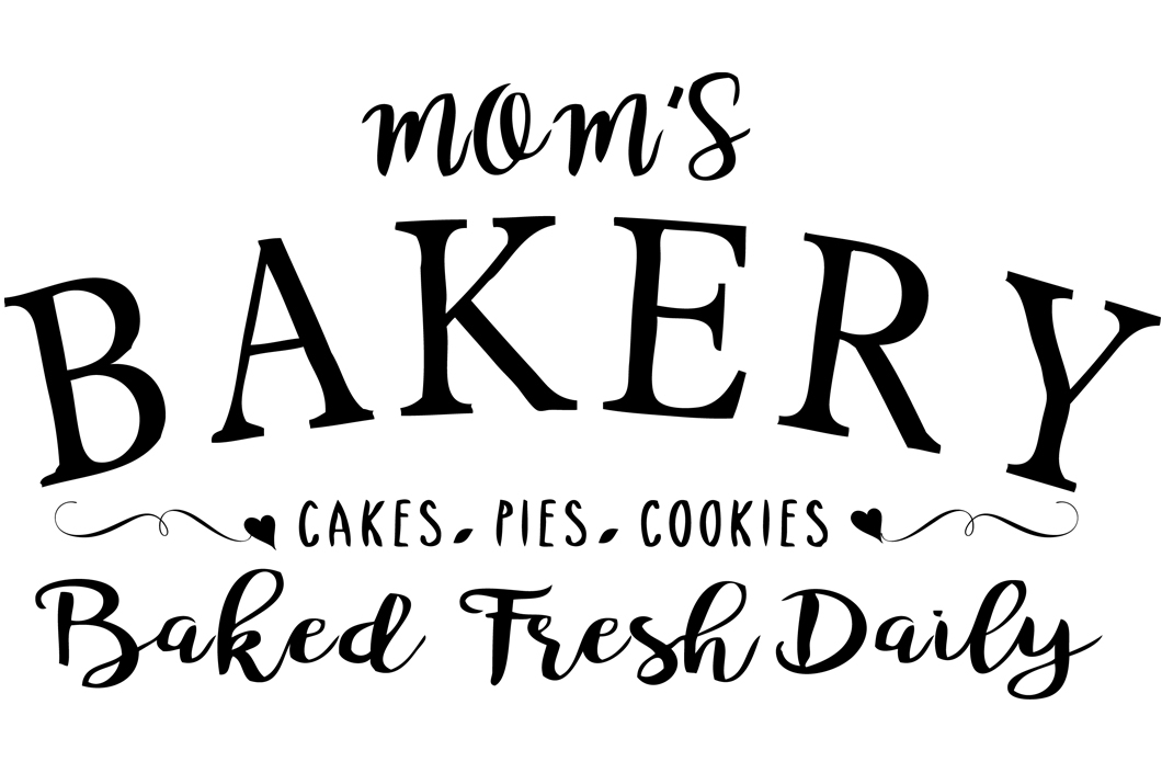Mom\u0027s Bakery svg