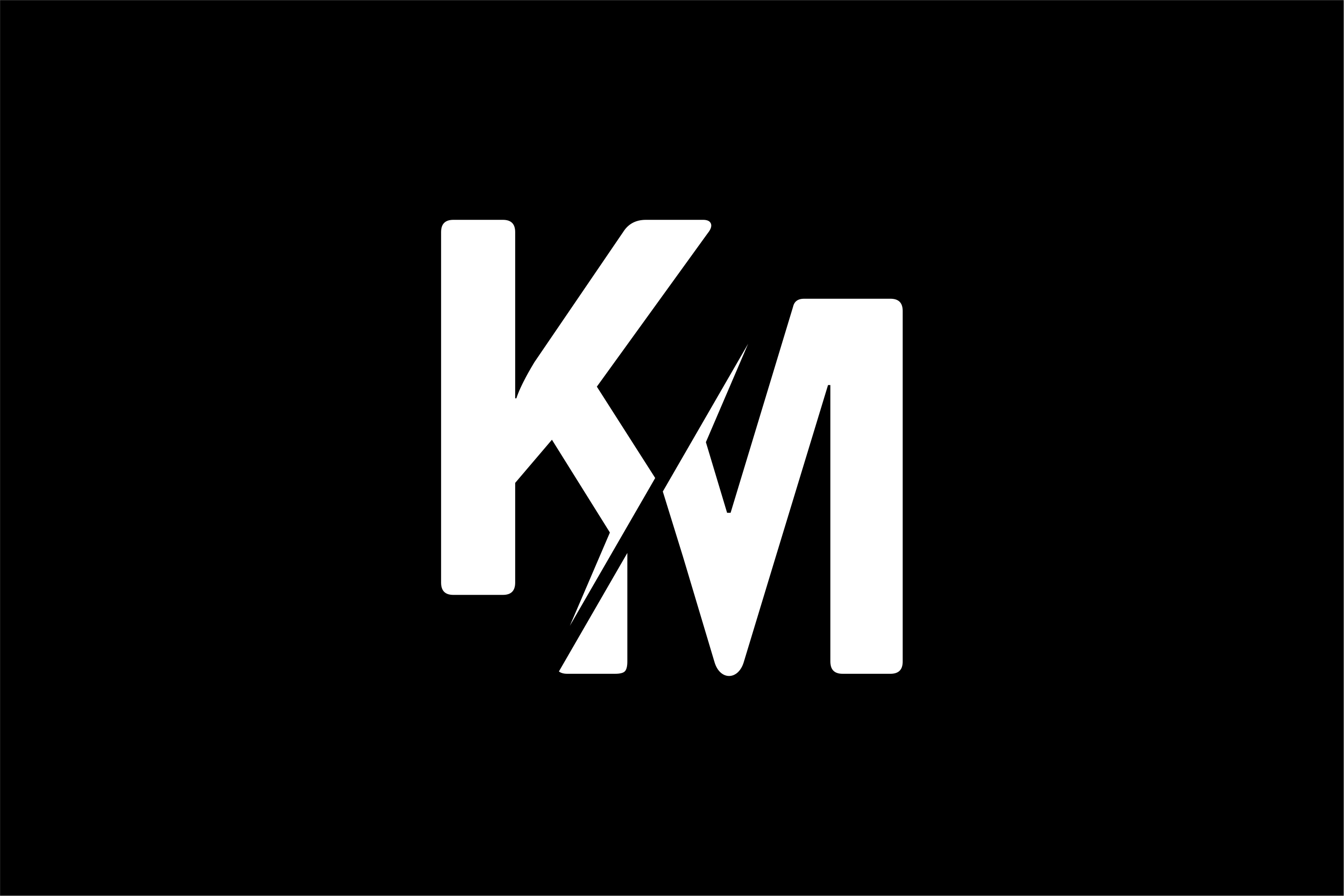 Monogram Km Logo Design Graphic By Greenlines Studios Creative Fabrica