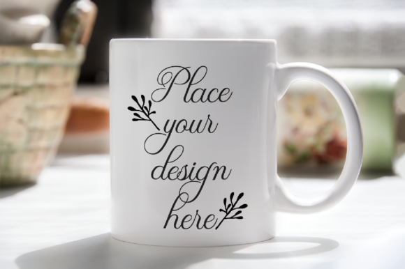 Print on Demand: Morning Coffee Mug Mockup Graphic Product Mockups By Leo Flo Mockups