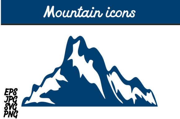 Download Free Mountain Icon Vector Image Graphic By Arief Sapta Adjie for Cricut Explore, Silhouette and other cutting machines.
