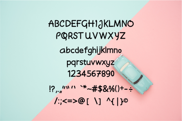 Moyudan Font By LetterBeary Image 2