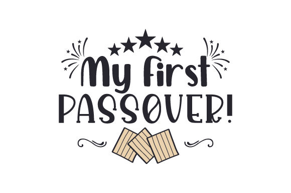 My First Passover! Jewish Craft Cut File By Creative Fabrica Crafts