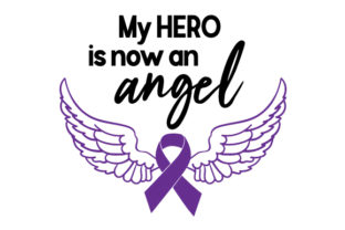 My Hero is Now an Angel Craft Design By Creative Fabrica Crafts