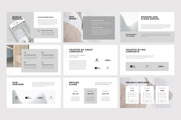Print on Demand: NORS Powerpoint Template Graphic Presentation Templates By pixasquare - Image 11