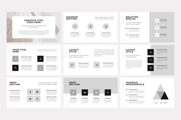 Print on Demand: NORS Powerpoint Template Graphic Presentation Templates By pixasquare - Image 13