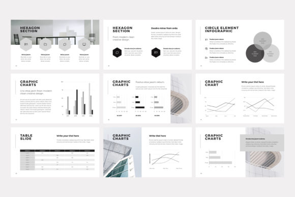 Print on Demand: NORS Powerpoint Template Graphic Presentation Templates By pixasquare - Image 14