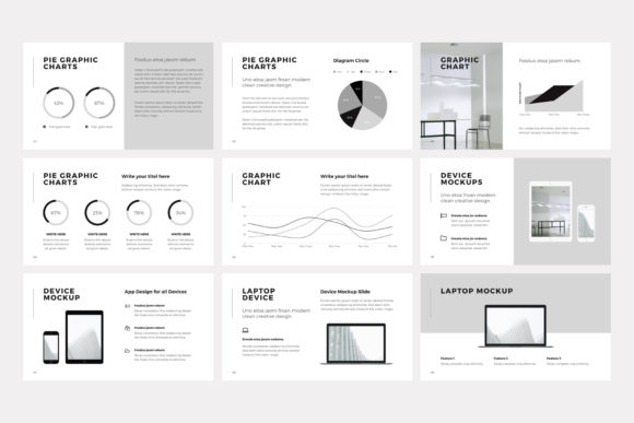 Print on Demand: NORS Powerpoint Template Graphic Presentation Templates By pixasquare - Image 15