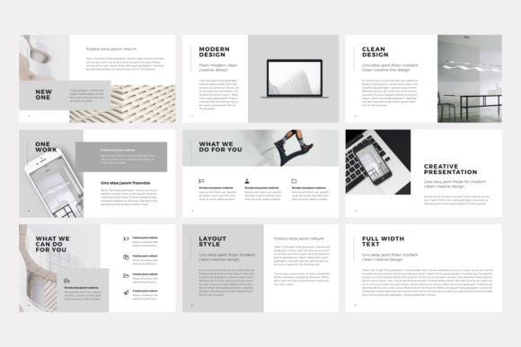 Print on Demand: NORS Powerpoint Template Graphic Presentation Templates By pixasquare - Image 5