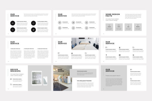 Print on Demand: NORS Powerpoint Template Graphic Presentation Templates By pixasquare - Image 10