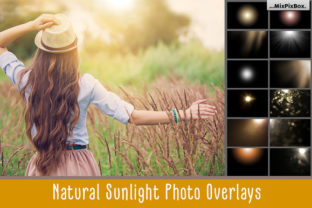 Print on Demand: Natural Sunlight Photo Overlays Graphic Layer Styles By MixPixBox
