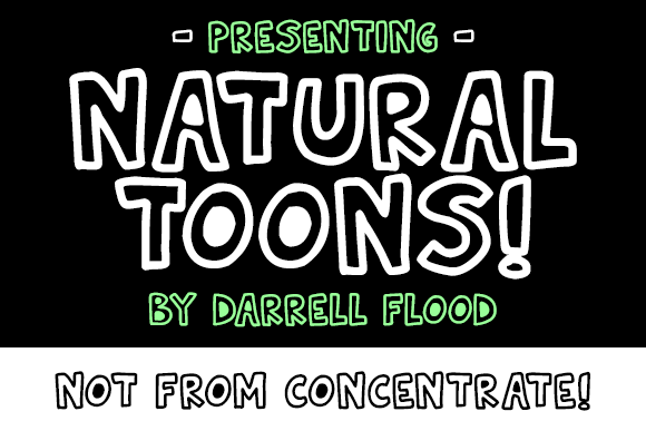 Print on Demand: Natural Toons Display Font By Dadiomouse