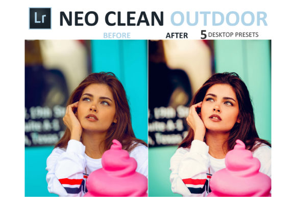 Print on Demand: Neo Clean Outdoor Desktop Lightroom Presets Graphic Actions & Presets By 3Motional - Image 2