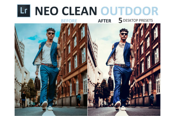 Print on Demand: Neo Clean Outdoor Desktop Lightroom Presets Graphic Actions & Presets By 3Motional - Image 3