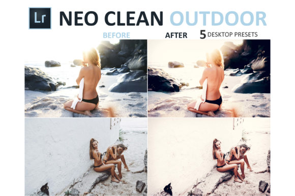 Print on Demand: Neo Clean Outdoor Desktop Lightroom Presets Graphic Actions & Presets By 3Motional - Image 4