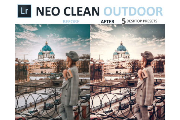 Print on Demand: Neo Clean Outdoor Desktop Lightroom Presets Graphic Actions & Presets By 3Motional - Image 5