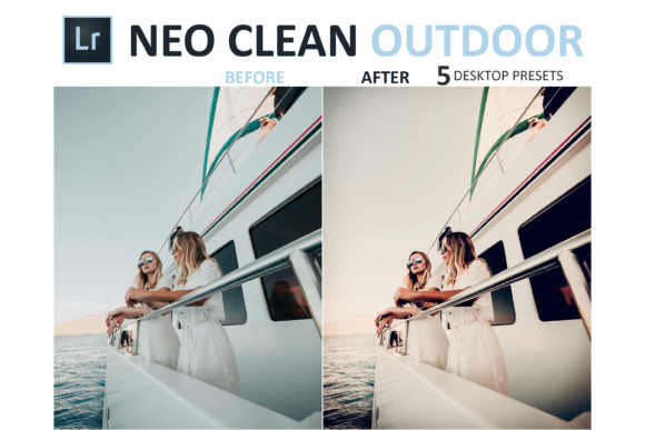 Print on Demand: Neo Clean Outdoor Desktop Lightroom Presets Graphic Actions & Presets By 3Motional - Image 6