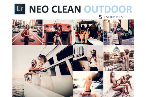 Print on Demand: Neo Clean Outdoor Desktop Lightroom Presets Graphic Actions & Presets By 3Motional - Image 1