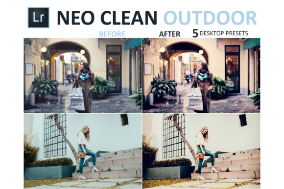 Print on Demand: Neo Clean Outdoor Desktop Lightroom Presets Graphic Actions & Presets By 3Motional - Image 7