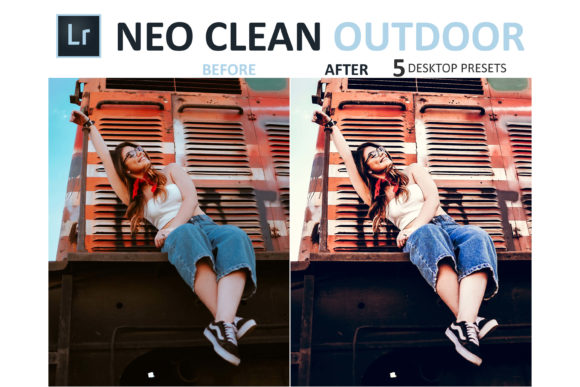Print on Demand: Neo Clean Outdoor Desktop Lightroom Presets Graphic Actions & Presets By 3Motional - Image 8