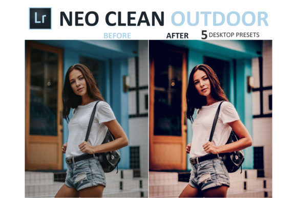 Print on Demand: Neo Clean Outdoor Desktop Lightroom Presets Graphic Actions & Presets By 3Motional - Image 9