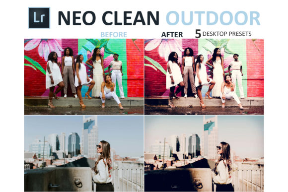 Print on Demand: Neo Clean Outdoor Desktop Lightroom Presets Graphic Actions & Presets By 3Motional - Image 10