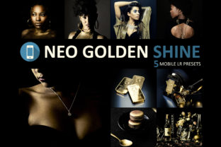 Download Free Neo Golden Shine Theme Mobile Lightroom Presets Grafico Por for Cricut Explore, Silhouette and other cutting machines.