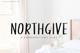 Northgive Font By indotitas