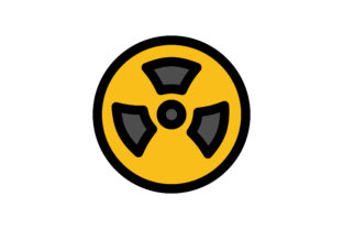 Download Free Nuclear Icon Graphic By Wirawizinda097 Creative Fabrica for Cricut Explore, Silhouette and other cutting machines.
