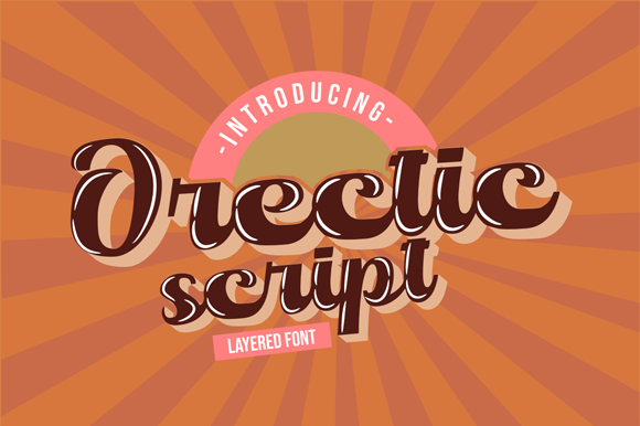 Print on Demand: Orectic Script Script & Handwritten Font By Flamde Studio