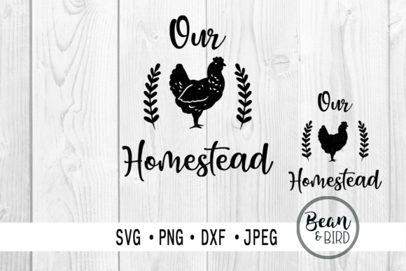 Print on Demand: Our Homestead Graphic Crafts By Bean and  Bird