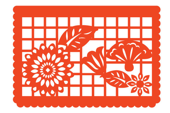 Download Free Papel Picado Flowers Svg Cut File By Creative Fabrica Crafts for Cricut Explore, Silhouette and other cutting machines.